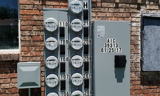 apartment submetering installation