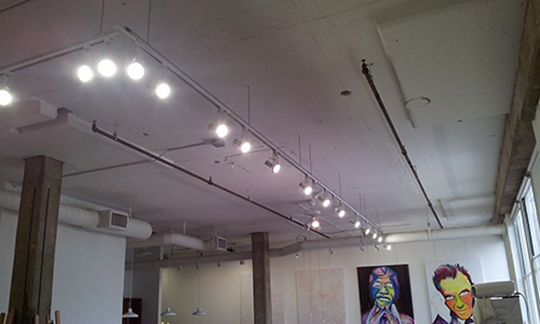 art gallery lighting